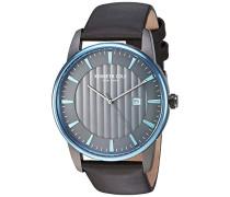 Analog Quarz Uhr mit Leder Armband KC15204004