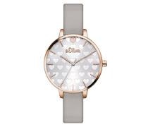 Damen Analog Quarz Armbanduhr SO-3475-LQ
