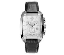 Armbanduhr Charactre Tonneau Chronograph Quarz WLC99D002S009