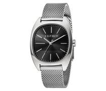 Analog Quarz Uhr mit Edelstahl Armband ES1G038M0075