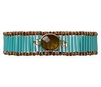 Damen-Manschetten Armbänder Edelstahl E18MYOUPTU