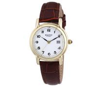Damen-Armbanduhr XS Analog Quarz Leder 12100466