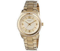 Armbanduhr XS Analog Quarz Edelstahl beschichtet 12210922