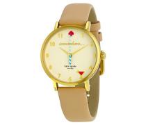 Damen Analog Quarz Uhr mit Leder Armband 1YRU0484
