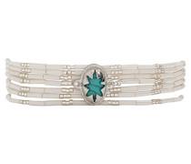 Damen-Manschetten Armbänder Edelstahl E18SIBISWH
