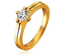 Damen-Ring Pour Toujours 925 Sterling Silber