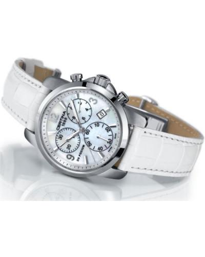 Armbanduhr XS DS Podium Lady Chronograph Leder C001.217.16.117.00