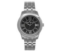 Armbanduhr Analog Quarz Edelstahl DHH 004-AM