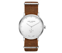 Herren-Armbanduhr LW32 Analog Quarz Leder 132SWCZ
