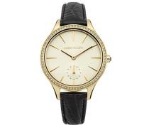 Damen-Armbanduhr Analog Quarz Leder KM112BG