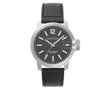Datum klassisch Quarz Uhr mit Leder Armband NAPSYD002
