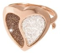 Ring MON AMOUR Bronze mit Glam Film BMHARM02