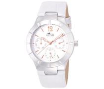 Damen-Armbanduhr Analog Quarz Leder 15916/1