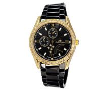 Armbanduhr Analog Quarz Premium Keramik Diamanten - STM15M8