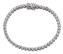 Celesta Silber Armband 925 Sterling Silber Zirkonia weiß Brillantschliff 18 cm 358260046R