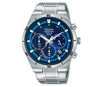 Chronograph Solar Uhr mit Edelstahl Armband PZ5035X1