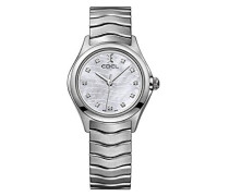 Datum klassisch Quarz Uhr mit Edelstahl Armband 1216267