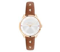 Analog Quarz Uhr mit Leder Armband R4251102523