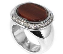 Damenring Preziosa Tigre Sterling-Silber 925 Ringgröße 56 43607969180