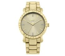 Datum klassisch Quarz Uhr mit Aluminium Armband LP566