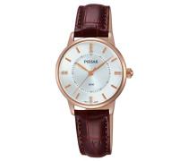 Damen-Armbanduhr Analog Quarz Leder PH8180X1