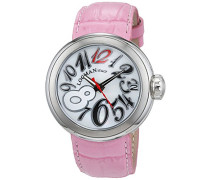 Datum klassisch Quarz Uhr mit Leder Armband 34000MW0RDKPSW-PK