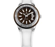 Armbanduhr Multi Zifferblatt Quarz Silikon 1-1784D