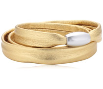 Damen Armband Edelstahl Leder 51607547G2