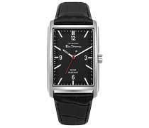 Datum klassisch Quarz Uhr mit PU Armband BS013BB