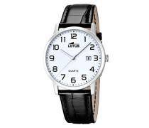 Herren-Armbanduhr Analog Quarz Leder 18239/1