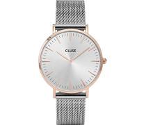 Damen-Armbanduhr Analog Quarz Edelstahl CL18116