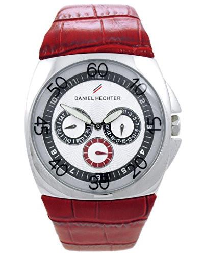 Herren-Armbanduhr Analog Quarz Leder DH03121AAR