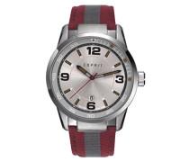 Herren-Armbanduhr ES109441001, Rot/Grün