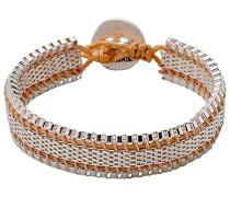 Armband Versilbert mattiert 19 cm - 291726722