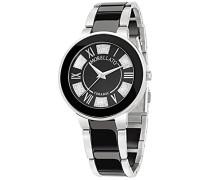 – R0153118502 – Roma Armbanduhr – Quarz Analog – Zifferblatt schwarz - Armband aus schwarzer Keramik