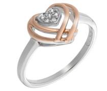 Ringe 925_Sterling_Silber zirkonia '- Ringgröße 58 (18.5) zr-7368/58 RG