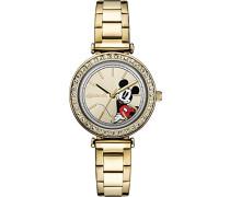 Analog Quarz Uhr mit Edelstahl Armband ID00304