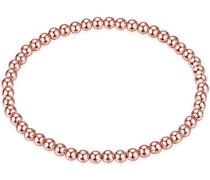 Armband 925 Silber teilvergoldet 17 cm - 609030972
