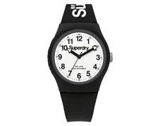 Analog Quarz Uhr mit Silikon Armband SYG164BW