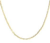 Halskette 9 K 375 Gelbgold 2, 2 g Länge 41 cm und Breite: 0