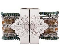 Damen-Manschetten Armbänder Edelstahl E18METERKA