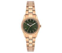 Datum klassisch Quarz Uhr mit Edelstahl Armband R4253101506