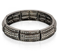 Costume B4706 Stretch-Armband, Kristall, Metall