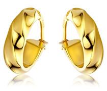 Ohrringe Gelbgold 9 Karat / 375 Gold Creolen