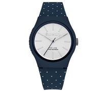 Erwachsene Analog Quarz Uhr mit Silikon Armband SYG166UW