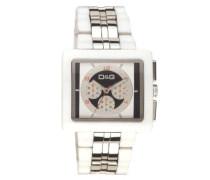 Analog Quarz Uhr mit Edelstahl Armband DW0058