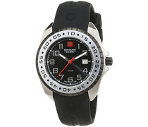 Armbanduhr Analog Quarz Kautschuk SM-6-6144-S-S