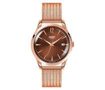 Armbanduhr Harrow Analog Quarz Edelstahl HL39-M-0050