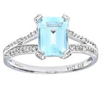 Damen-Ring 375 Gelbgold 9 K Diamant PR07262W AQ-J