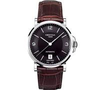 Armbanduhr XL Analog Automatik Leder C017.407.16.057.00